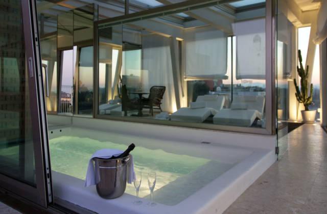 H Hotel con Attico Spa panoramico